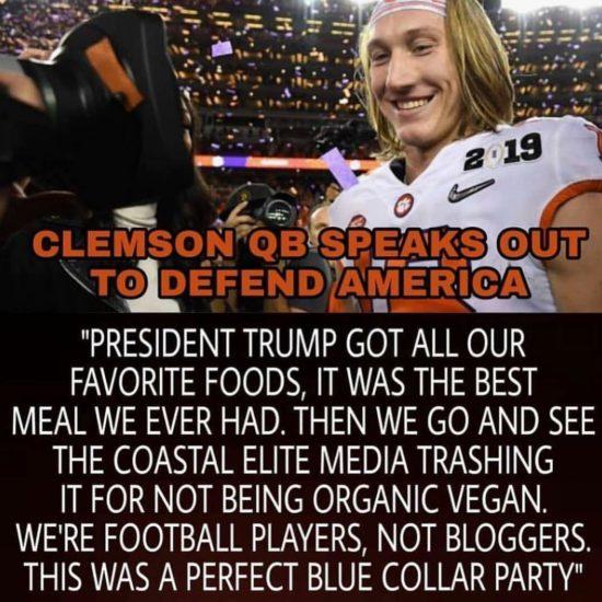 Clemson Trump